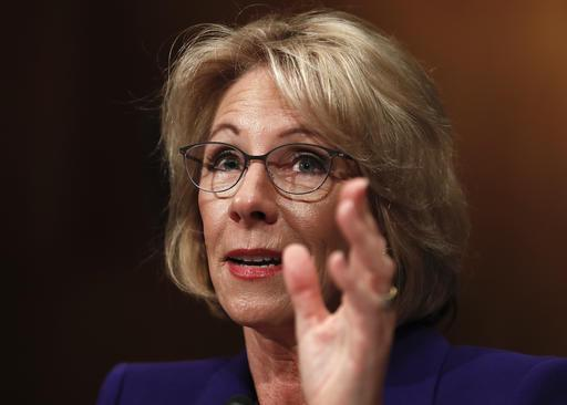 Betsy DeVos calls rising student debt crisis for