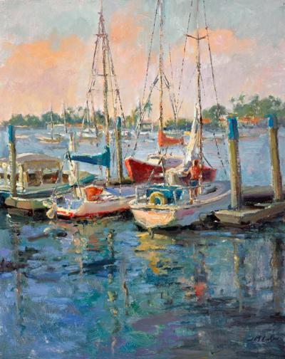 Newport patriots painting