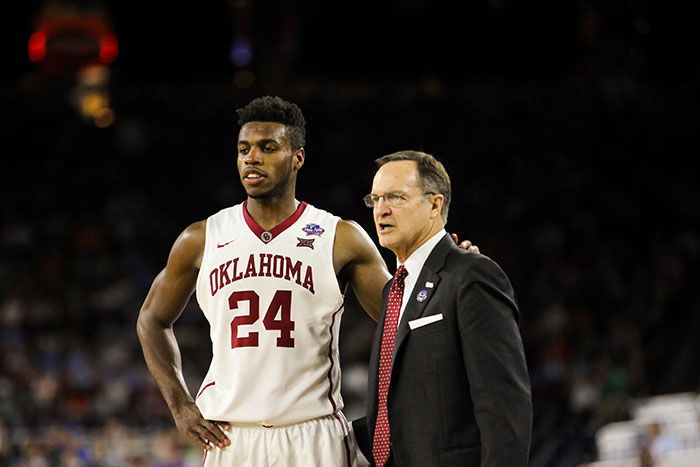 Buddy Hield and Lon Kruger