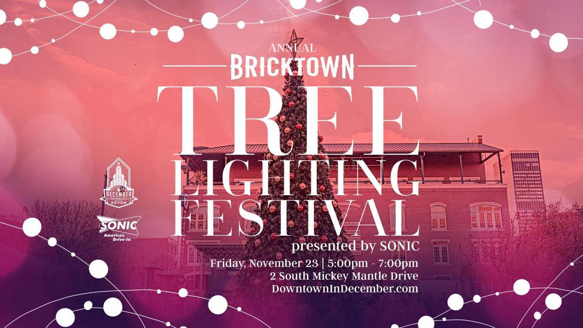 Oklahoma City Hosts Annual Tree Lighting Festival In