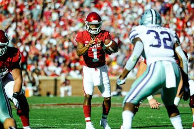 wholesale dealer 63c2e 205b3 OU football: Kyler Murray adds to Heisman candidacy in win ...