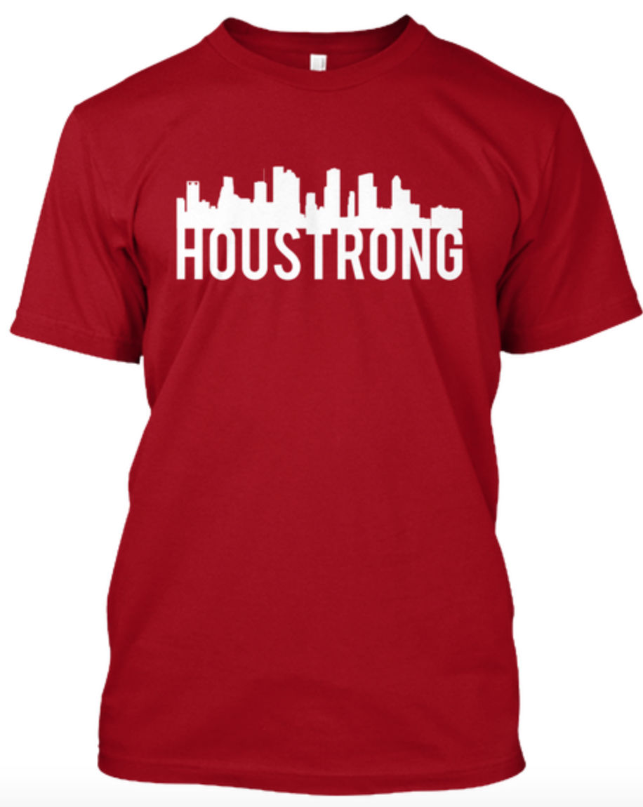 Ou student designs shirts to benefit houston after for T shirt printing houston