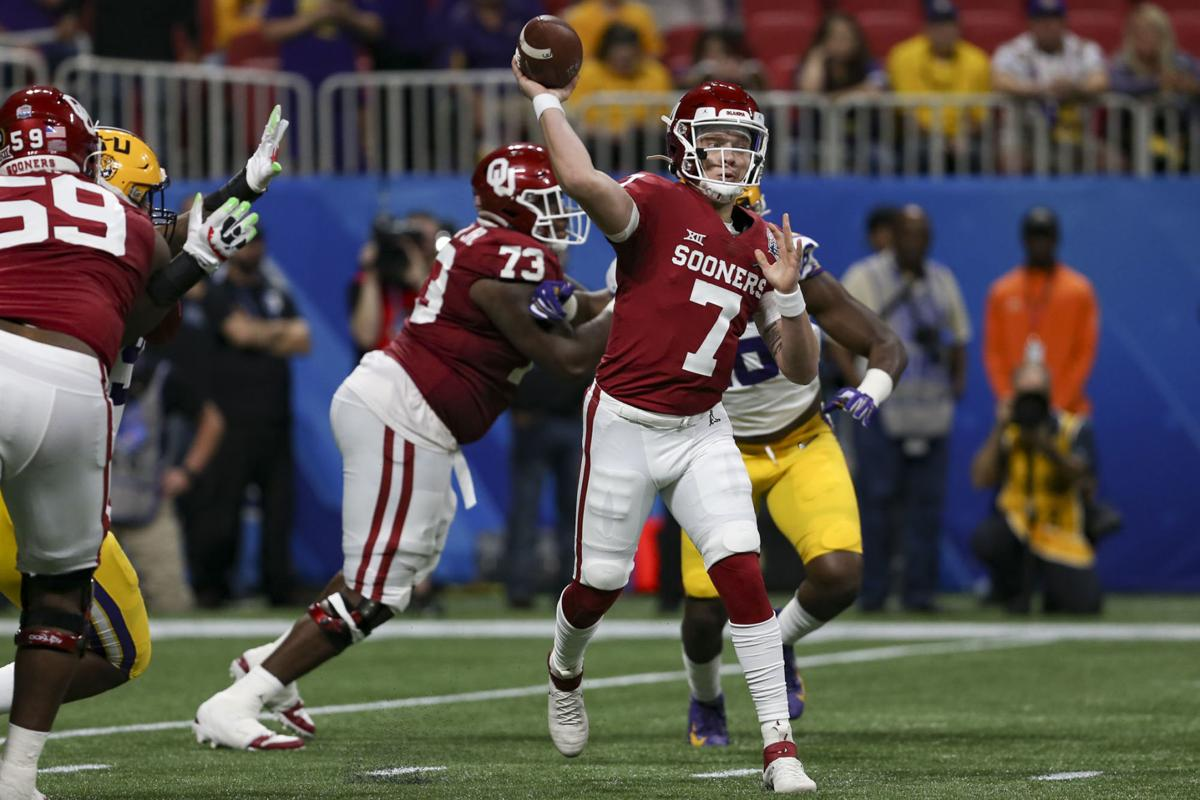 Ou Football Spencer Rattler Era Begins In Final Minutes Of Sooners Loss To No 1 Lsu In College Football Playoff Sports Oudaily Com