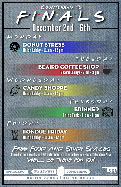 UPB de-stress events