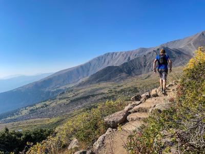 A look at part of the rerouted trail up the Mount Elbert East slopes. Photo Courtesy: Spencer McKee
