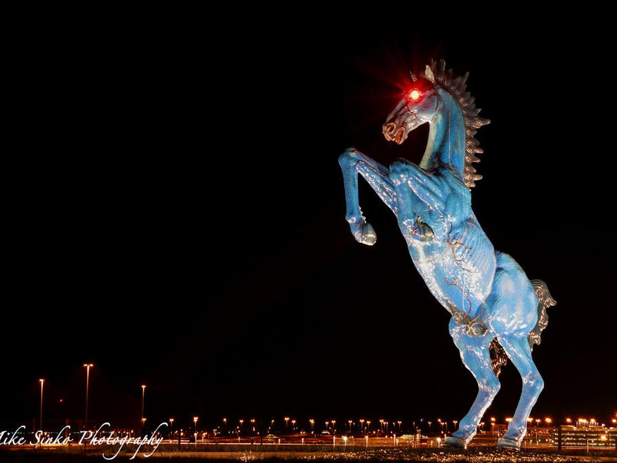 The Real Story Behind Denver S Demonic Horse Outthere Colorado