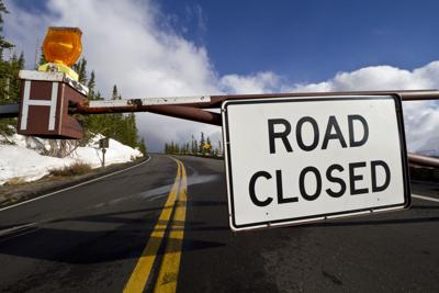Trail Ridge Road closed Credit Rocky Mountain National Park