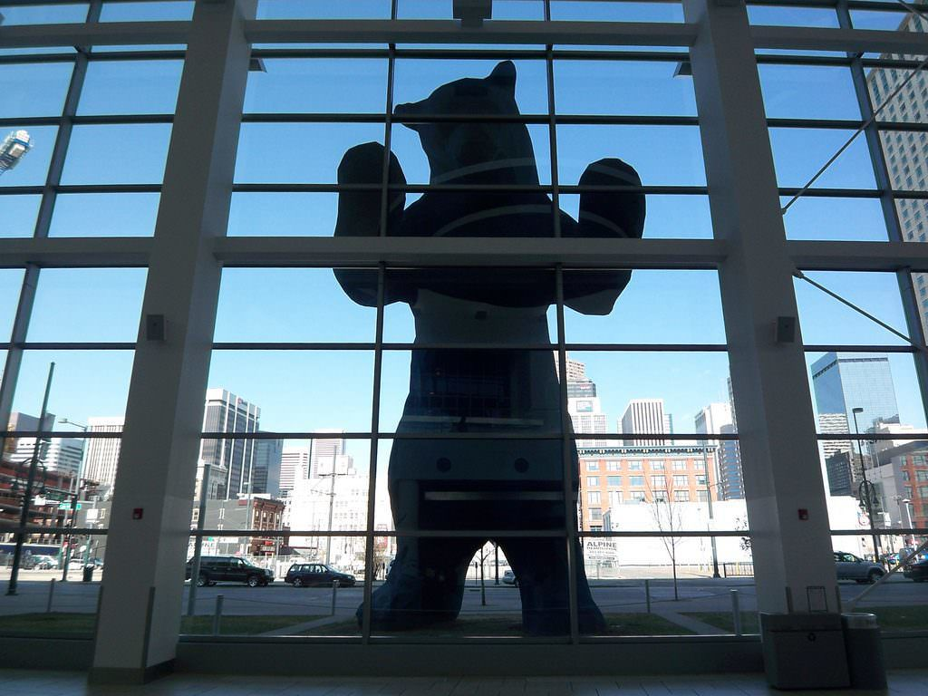 What's Really Up with Denver's Big Blue Bear?