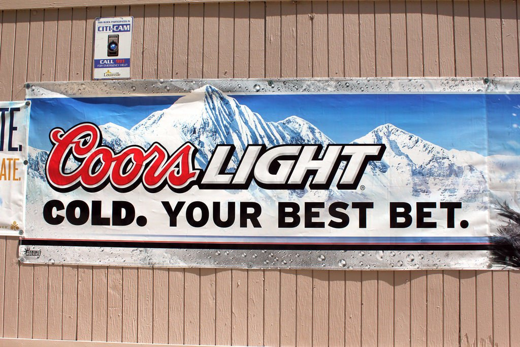 The Story Behind the Mountains on the Coors Light Can