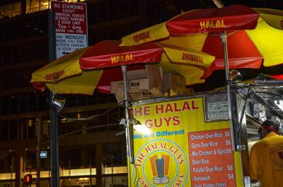 One of many 'The Halal Guys' locations in New York City. Photo Credit: m01229 (Flickr).