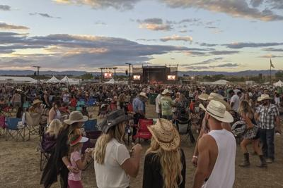 A photo from Country Jam musical festival in Mack, Colorado, located about 20 miles from Grand Junction. Photo Credit: Rae Ellen Bichell/Kaiser Health News via AP.