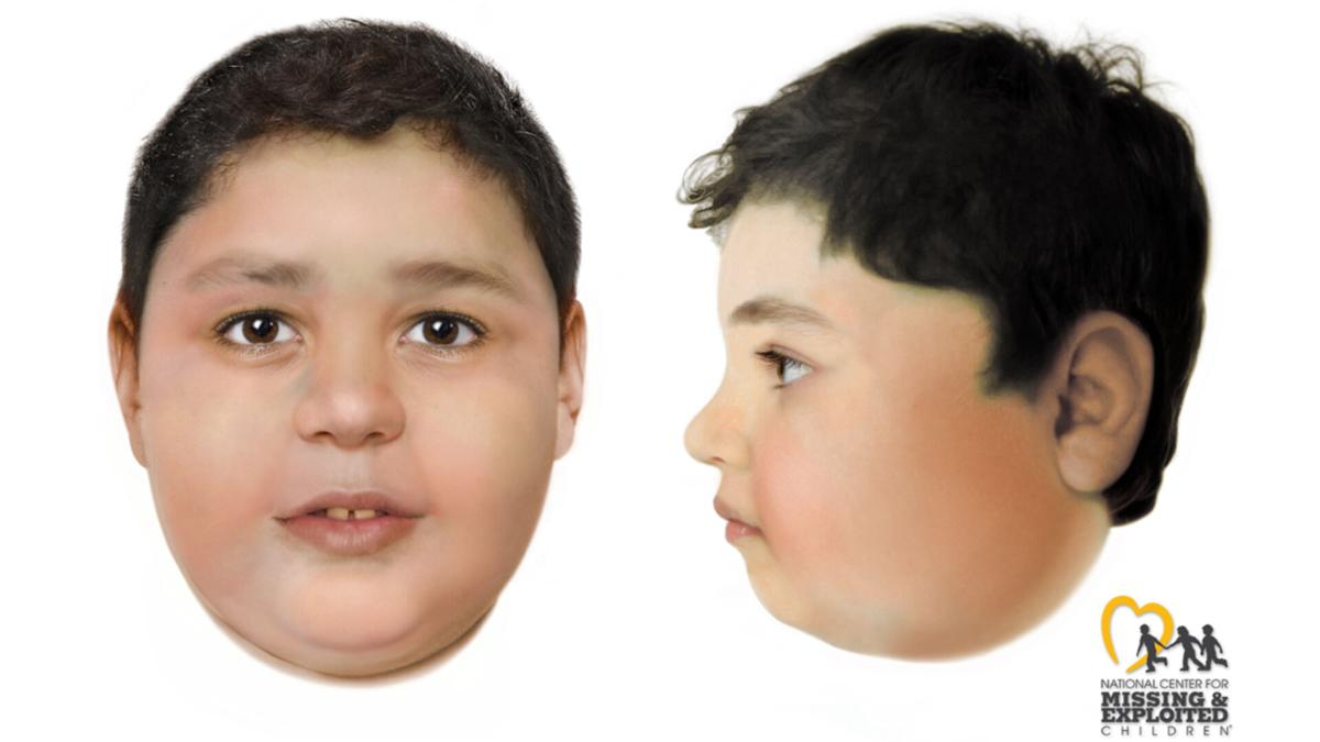 A composite sketch that aided in identifying Liam Husted, 7. Courtesy of Las Vegas Metro Police Department.