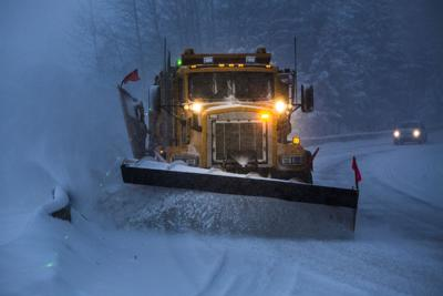 Snowplow plowing the highway during snow storm. Photo Credit: VisualCommunications (iStock).