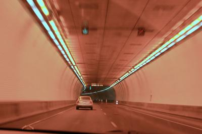 Drive the world's highest vehicular tunnel in Colorado