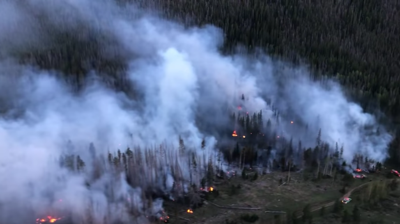 Photo Credit: US Forest Service - White River National Forest (via Facebook, screenshot, view full video below).