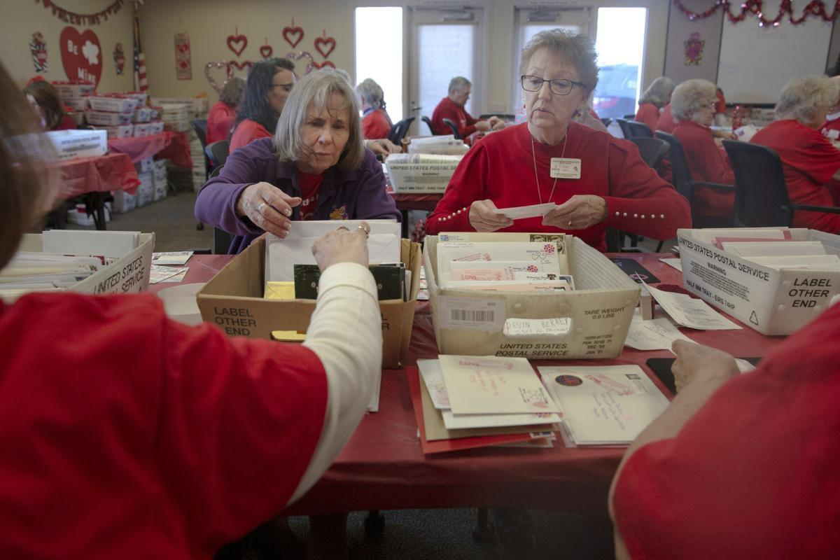 100000 cards mailed from colorado town for valentine's