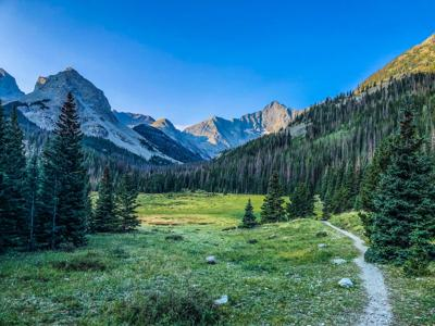 A trail in the area of the Sangre de Cristo range. Photo Credit: Spencer McKee.