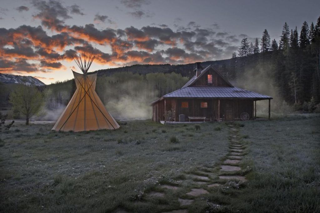 Ghost town home to epic hot spring experience