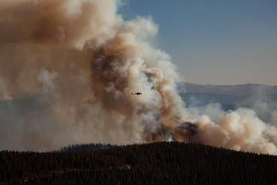Cameron Peak Fire Explodes To Become Largest Wildfire In Colorado State History Outthere Colorado