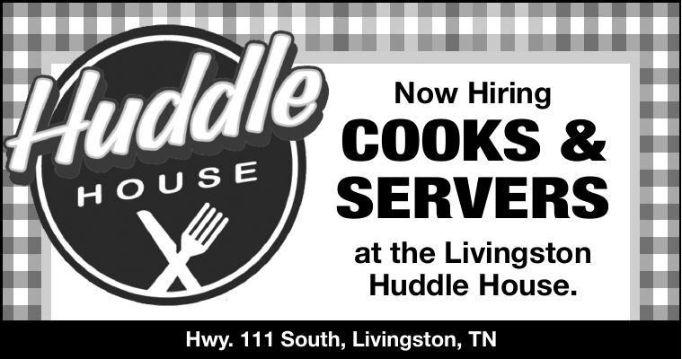 Huddle House - Now Hiring Cooks & Servers