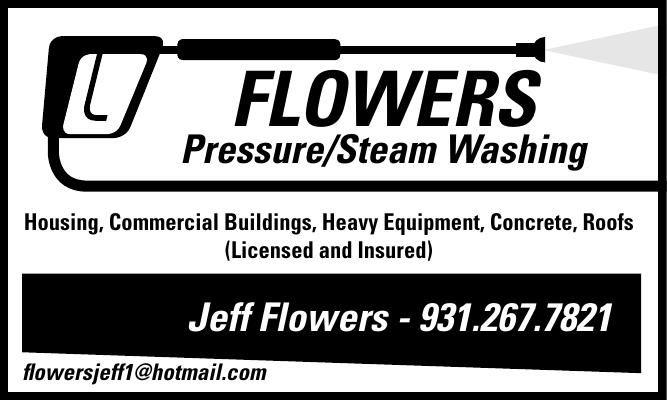 FLOWERS POWER WASHING