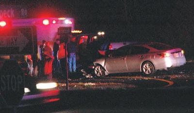 Crashes occur on Highway 111 last week