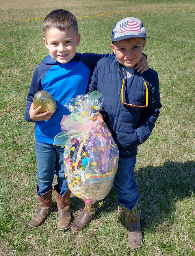 Community Egg Hunt held Saturday