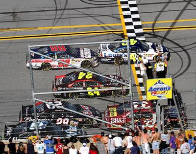 Talladega sees close finishes since 2010