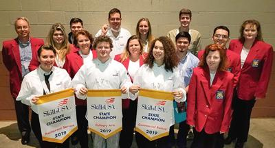 UC Vol State students win in job skills competition