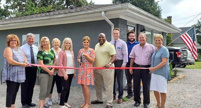 Ribbon Cutting held at Steel Magnolias