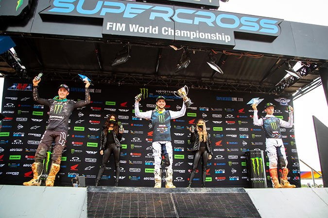 Rookie Nate Thrasher grabs first career win in 250SX Class