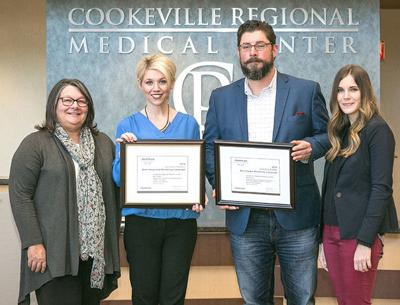 CRMC earns leadership awards  in national competition