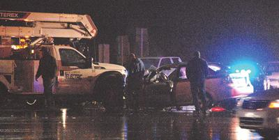 One injured in 2-vehicle collision