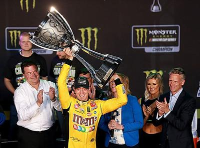 Busch claims second championship