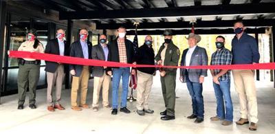 Visitors center opens at Cummins Falls