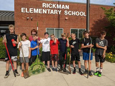 OC Middle School boys soccer cleans up Rickman campus