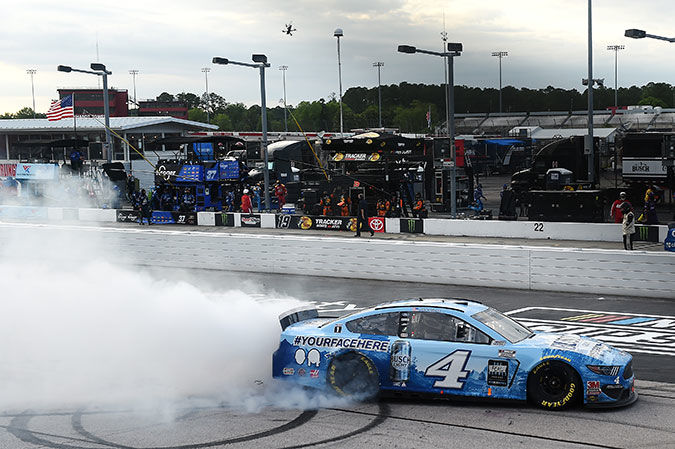 Kevin Harvick wins Darlington with no fans in stands
