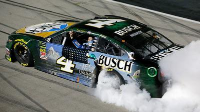 Harvick punches ticket to Championship 4