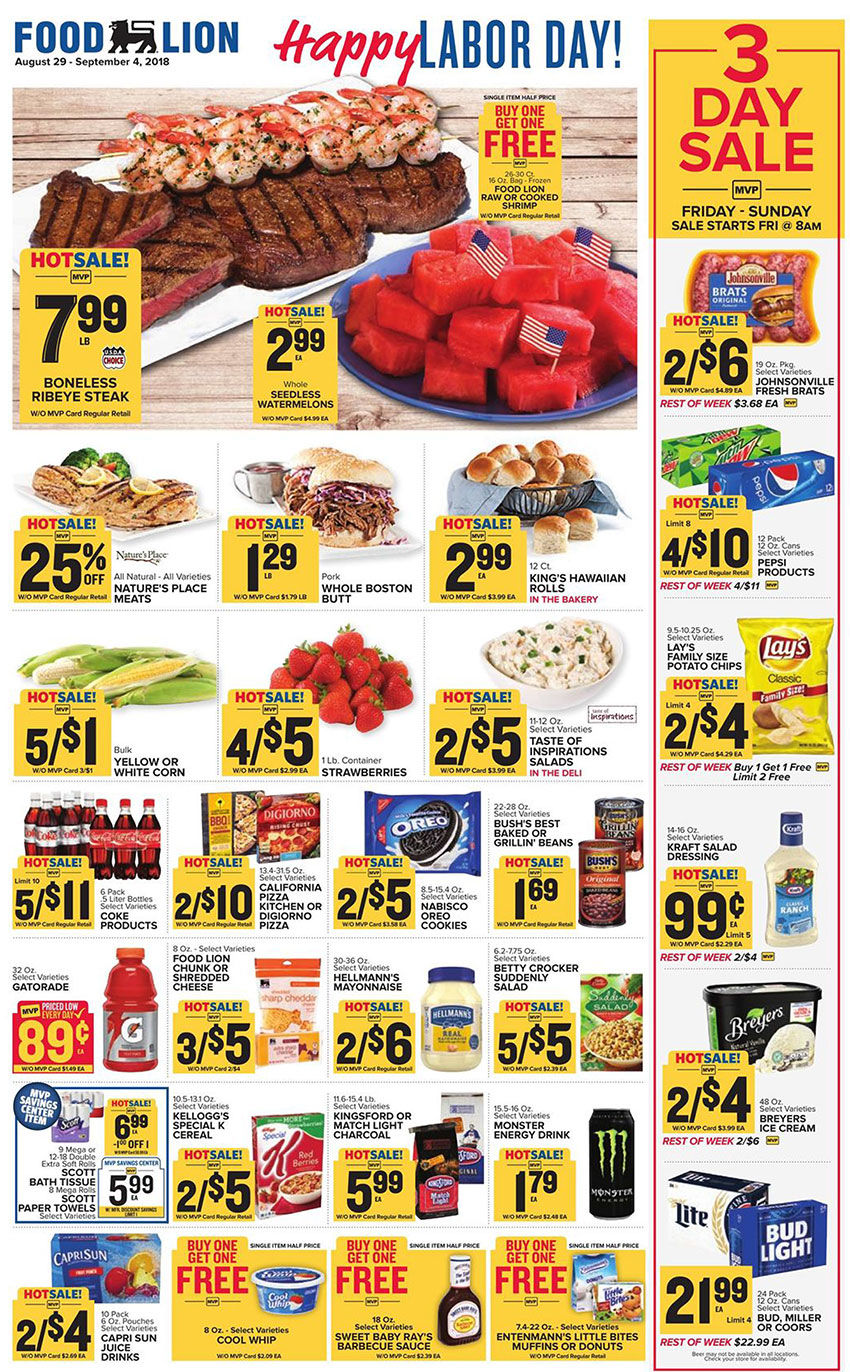 Food Lion Weekly Ad Overtoncountynewscom