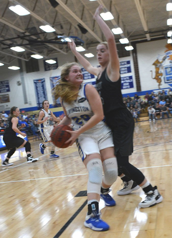 Lady Cats fall 41-35 to powerful Pickett