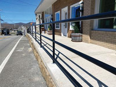 New safety rails installed on North Church Street