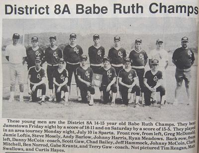 30 years ago  in Overton County News July 19, 1989
