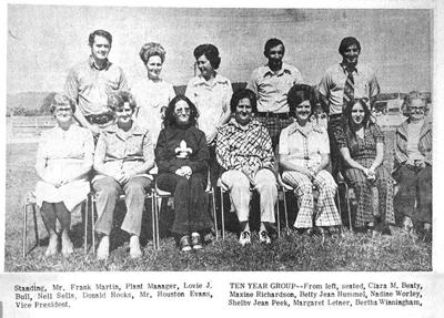 45 years ago in Overton County News October 3, 1974