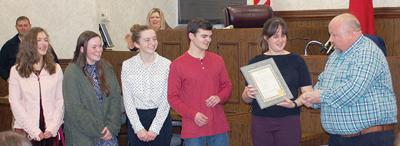County Commission honors 4-H Champs