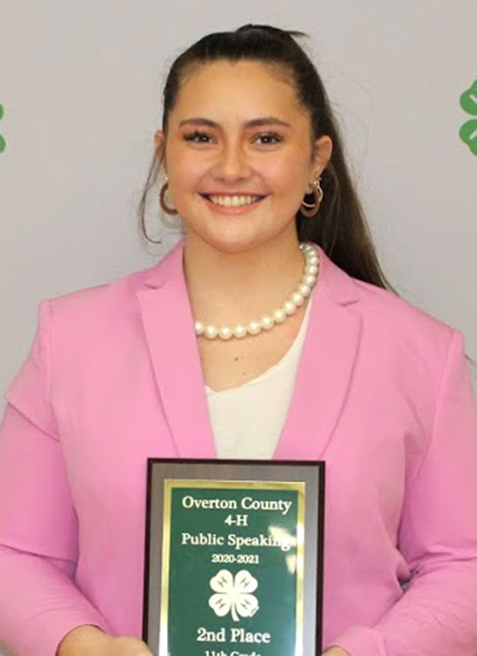 4-H Speech Contest winners announced