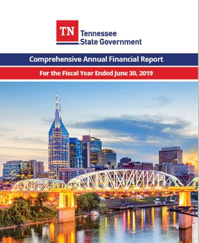 State's annual financial report now complete