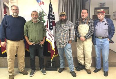 SCV camp elects officers