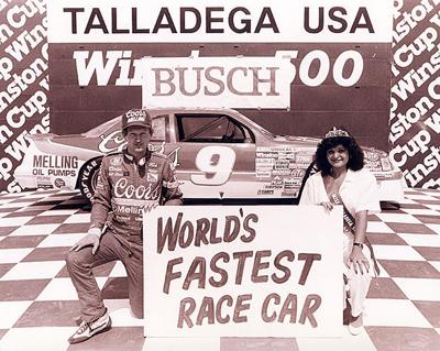 Iconic drivers race at Talladega in the 1980s