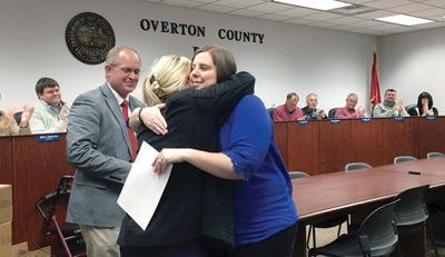 Tenure granted during School Board meeting