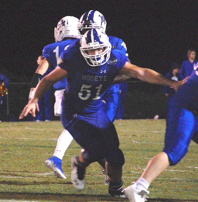 LA fights back late, falls short 34-28 at White County